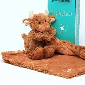 Highland Coo Toy Soother (Jomanda)